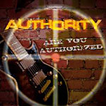 Cover vom Authority Album Are you authorized